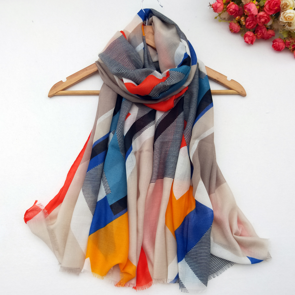 Cotton Women Long Scarf Soft Spring New Thin Summer Lady 39 s Beach Shawls Viscose Female Wraps Autumn Muslim Scarves in Women 39 s Scarves from Apparel Accessories