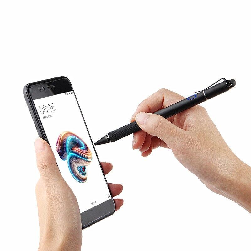 Stylet actif stylet écran tactile capacitif pour Moto Z M G X Z3 Lenovo Vibe P2 Edge ZUK Z1 Z2 Pro Phab 2 Plus K3 étui téléphone portable