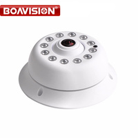 High Definition Security CCTV 720P 1080P 2MP Dome AHD Camera Fisheye With IR CUT Night Vision