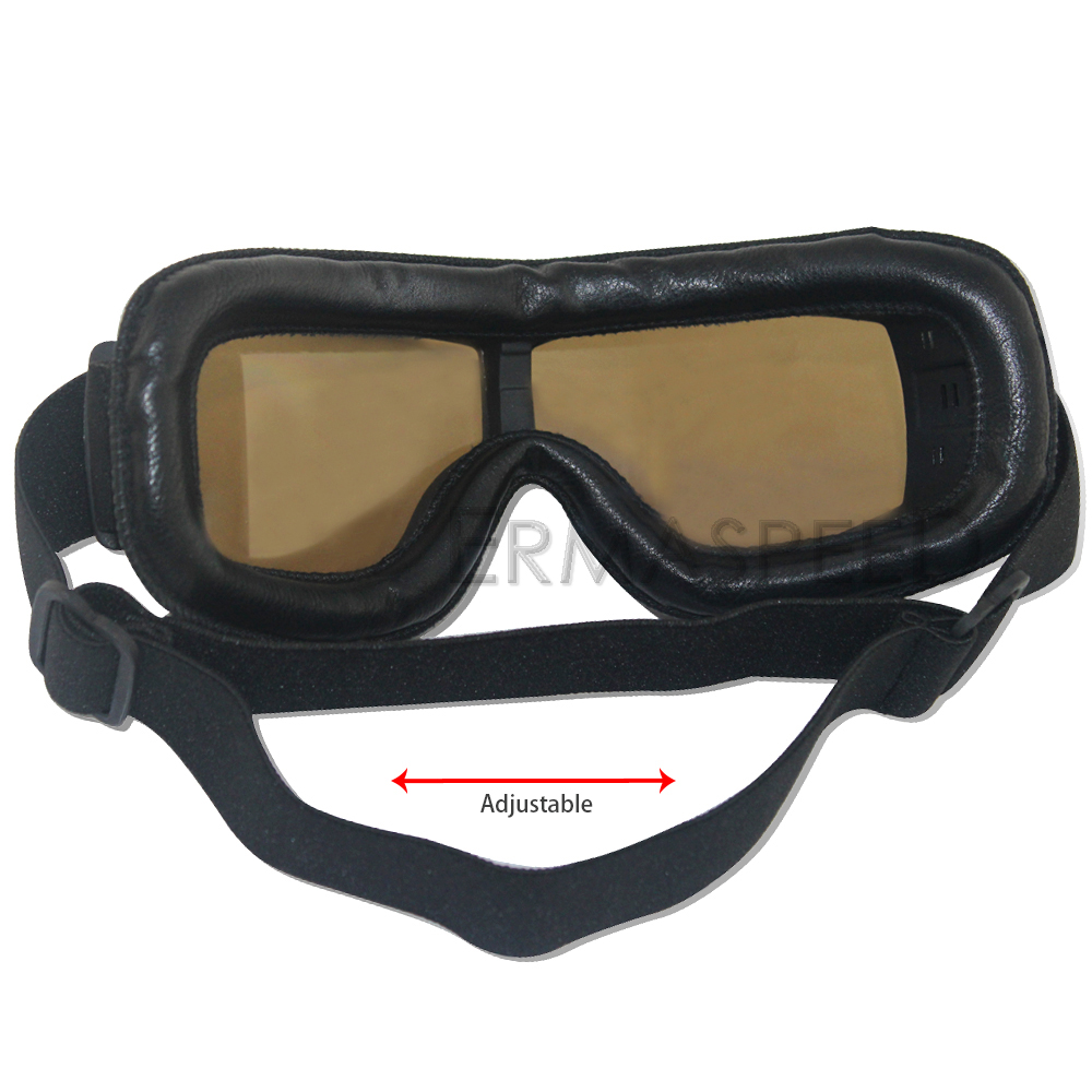 Safety Windproof Motorcycle Glasses Retro Motocross Goggles Eye Protection Cycling Outdoor Dirt Bike Riding Vintage Sunglasses 5