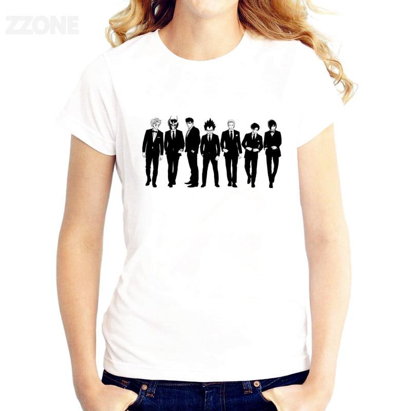 67908f268 Cheap Hombre negro colección anime camiseta de las mujeres impreso buena  calidad Camisetas Camiseta de manga