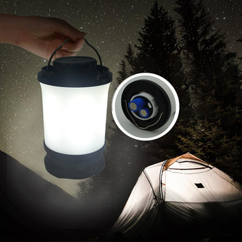 High Quality USB Rechargeable LED Camping Lantern 700 lumen IP65 lithium battery ultra Tent Light also portable power bank