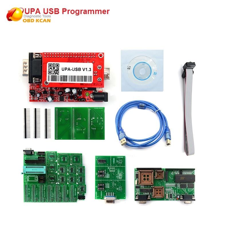 New UPA USB Programmer V1.3 For Version Main Unit For Sale UPA USB Adapter ECU Chip Tunning UPA-USB UPA USB 1.3 Best Quality