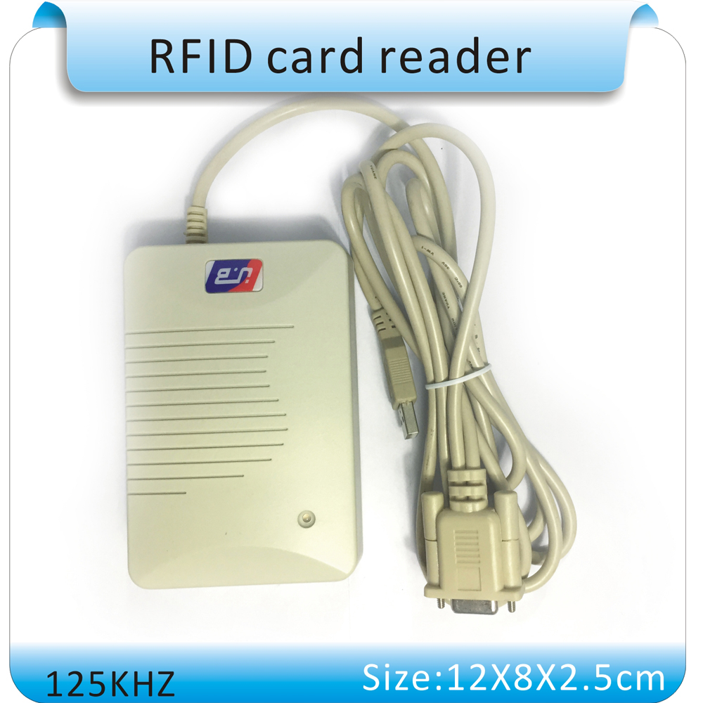 YLE406R 125KHZ EM ID card reader full featured adjustable the output format RS232 port select one