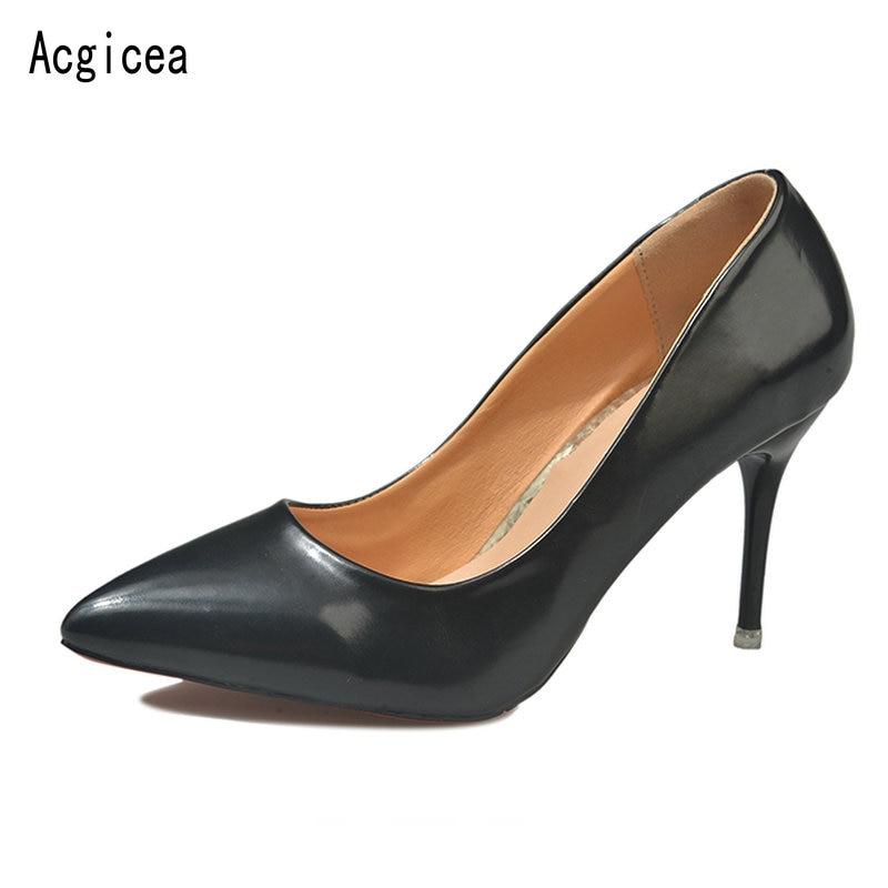 Cómodo Oficina Alta Bombas Para Beige Clásicos Verano caqui Baja Las Damas Popular Mujer Nuevas Tacón negro Calzado De 2018 Zapatos Mujeres wtgx6