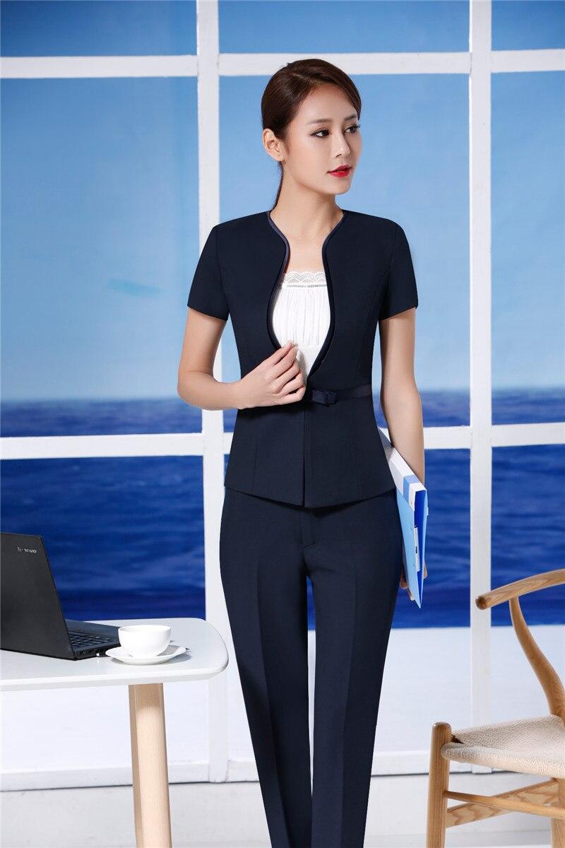 Giacche A Eleganti da Nero Donna Estate Donna Blazer Maniche per xXPvZH8