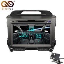 Sinairyu 2 Din Android 8,0 Octa Core dvd-плеер автомобиля для Kia Sportage 2010-2012 gps навигации Мультимедиа Радио стерео Штатная
