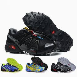 Salomon Speed Cross 3 CS III Men Sneakers Man Running Shoes Breathable Flats Walking Shoes Men Trainers Hombre eur 40-46