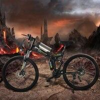 350 W krachtige electric36V 12ah Lithiumbatterij E fiets 26