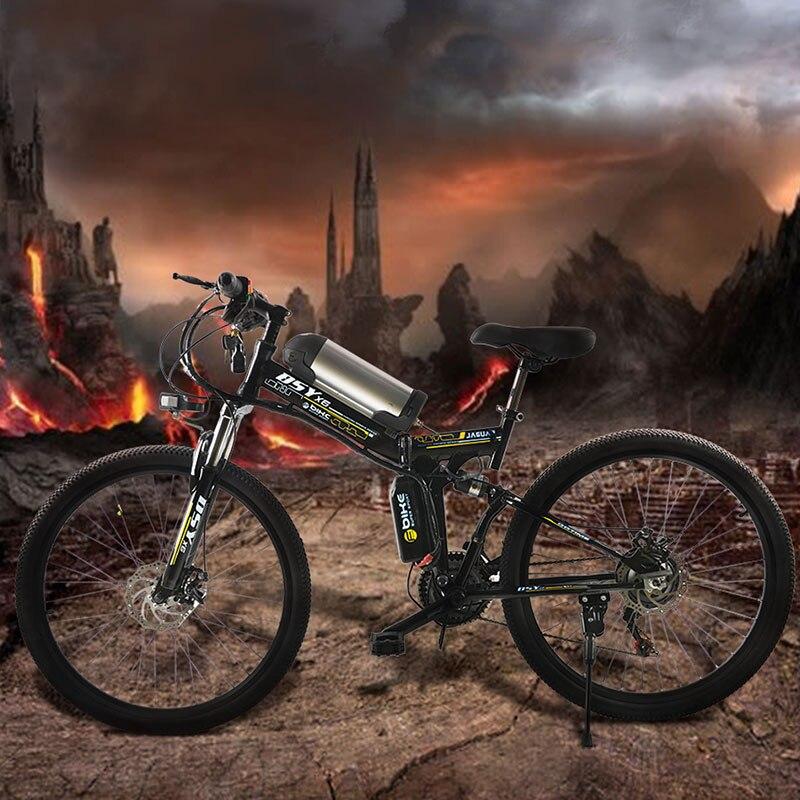350 w puissant electric36V 10.8ah Batterie Au Lithium E vélo 26 * 1.95 pliable vélo Électrique nouvelle Unisexe pliant Vélo ebike