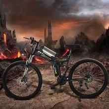 350 W puissant electric36V 10.8ah batterie au Lithium E vélo 26 «* 1.95 vélo électrique pliable nouveau unisexe vélo pliant ebike