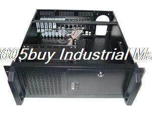 New 4U450 industrial computer case server computer case hard drive computer case new ultra short 3u computer case 38cm 8 hard drive pc large panel atx power supply 3u server industrial computer case