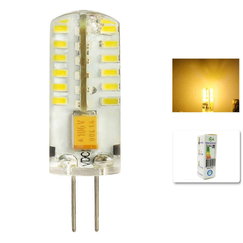 1Pcs/lot G4 LED Light Bulb 6W g4 led capsule LED Spot Light Bulb Lamp in crystal Lighting lamp G4 LED Spotlight lamp AC DC 12V thgs 6 smd led lamp g4 12v dc spot light bulb warm white
