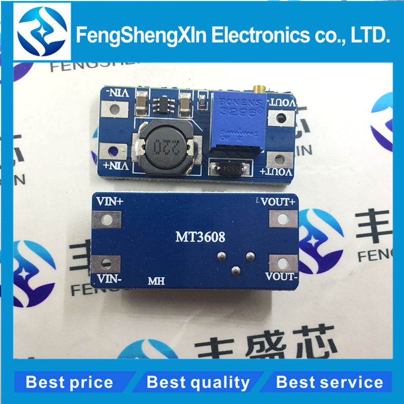 5pcs/Lot   New  Mt3608  A Max Dc-Dc Step Up Power Module Booster Power Module