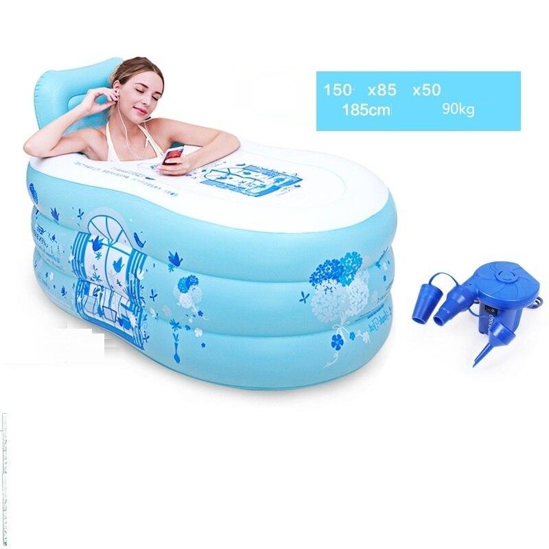 Basen Ogrodowy Piscina Adulto Pedicure Spa Gonflable Banheira Inflavel Adult Bath Tub Inflatable Bathtub in Inflatable Portable Bathtubs from Home Garden