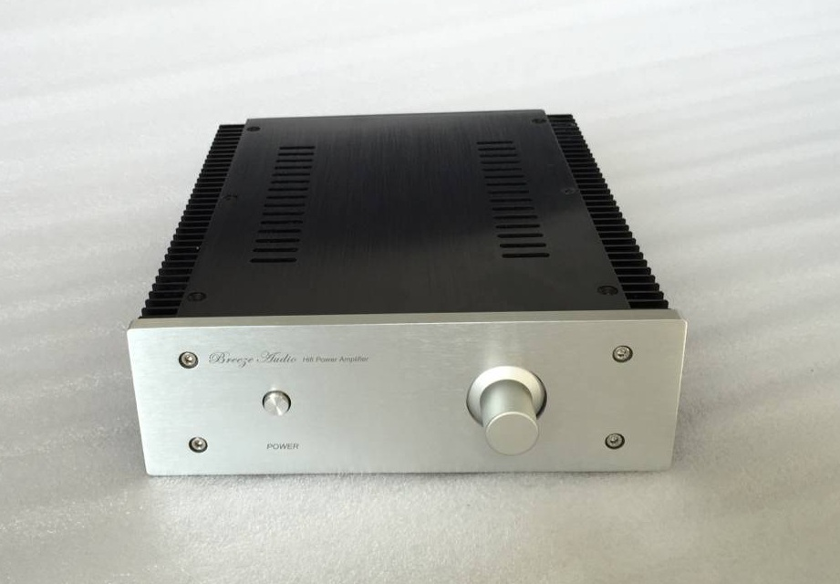 All aluminum pure power amplifier chassis 1969 Class A power amplifier chassis