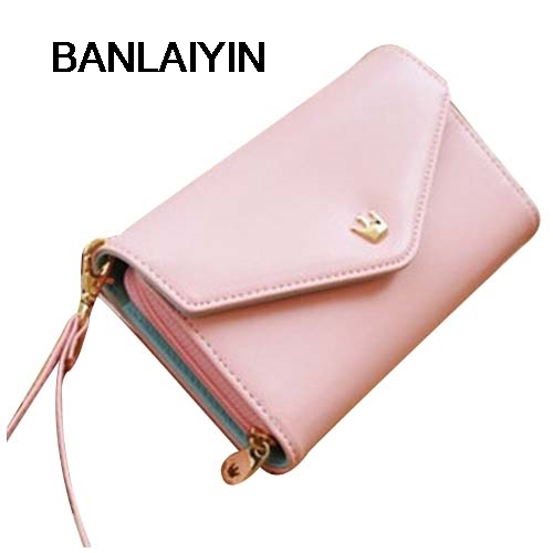 Multifunction Women Wallet Coin Case Purse For Iphone 4s 5