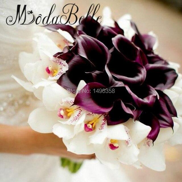 2017 benutzerdefinierte Weie Orchidee Calla Lily Hochzeit