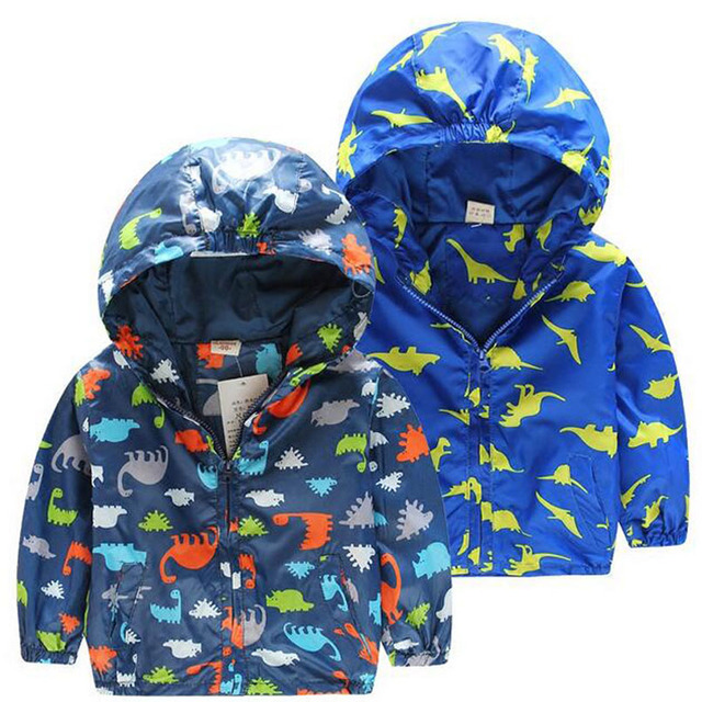 d8d9e2433c453 New Children s Hooded Jackets Spring Boys Outerwear Fashion Dinosaur Boys  Sweatshirts Cute Boy Hoodie Casaco Infantil