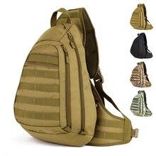 45 CM Big militär einzigen gurt rucksack, große schulter brusttasche, halten A4paper 14′ laptop A3104