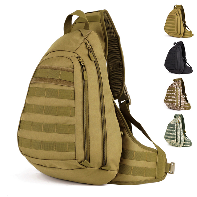 45CM Big military single strap backpack, big shoulder chest bag ...