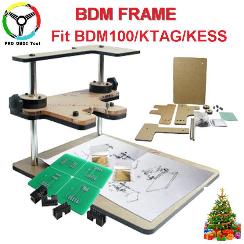 Full set BDM Frame With 4 Aapters Works For BDM Programmer/CMD 100 Full Sets Fits For Original FGTECH B Version CNP Free ship