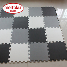 Meitoku baby EVA Foam Play Pusselmatta för barn / Interlocking Exercise Tiles Golv Matta Rug, Varje 30X30cm, 18 eller 24pc i en väska