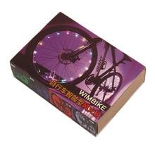 Intelligent Bicycle Wheel Light Water-resistant Bike Cycling Rim Lights LED Wheel Spoke Light 2m String Wire Lamp