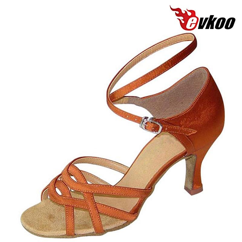 Evkoodance Marque Chaussures Nubuck Noir Latine Tan Salsa Danse De rrdqOw4x