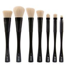 2017 New 7PCS Blush Brushes Professional Contour Powder Cosmetics Make Up Eyebrow Slim Waistline Makeup Sets Kit