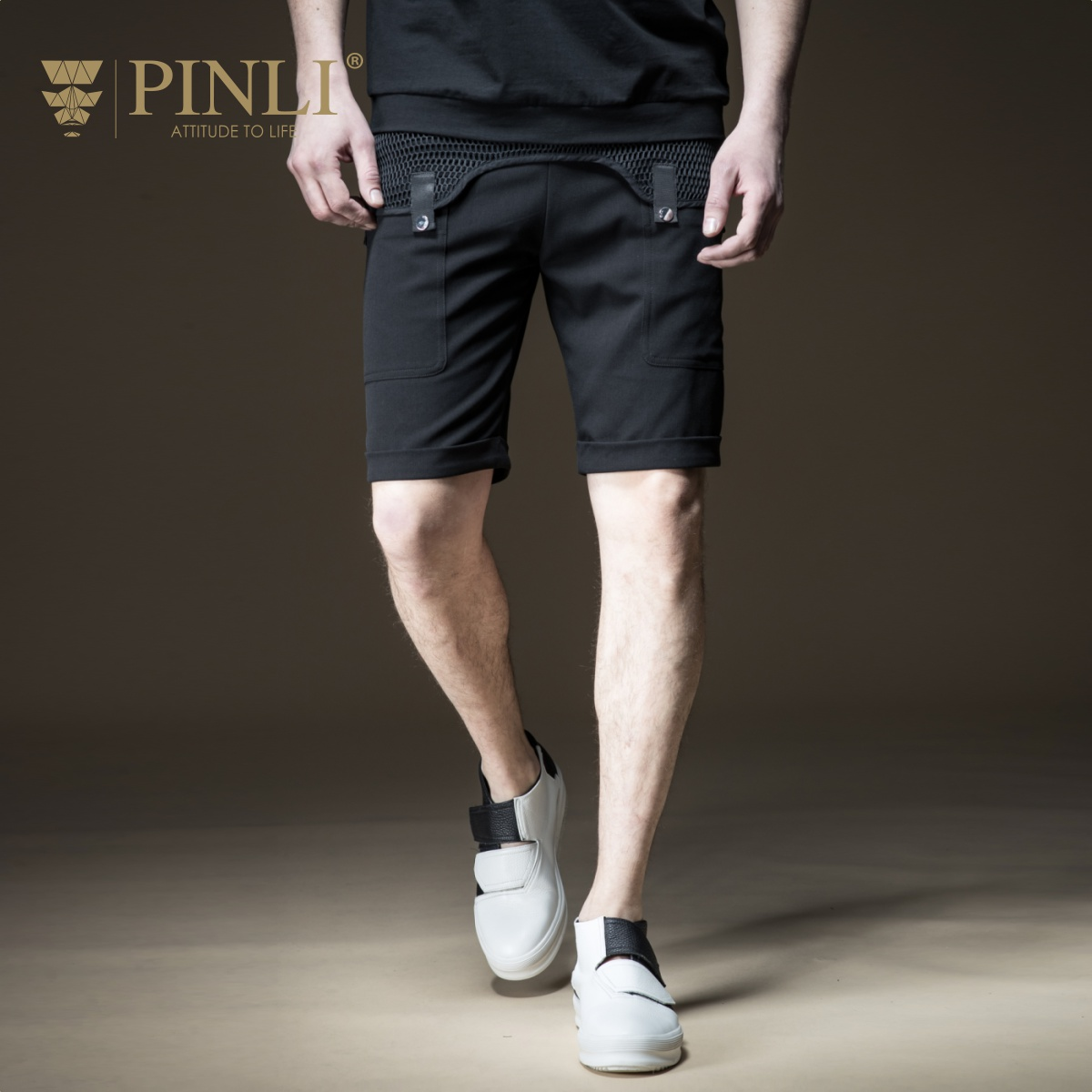 2019 Shorts Fitness Men Pinli Product Made Summer New Men's Cultivate Morality Splicing Leisure Five Minutes Casual B182317314