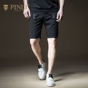 Shorts Product-Made Fitness Leisure Casual Summer New B182317314 Pinli Five-Minutes Splicing