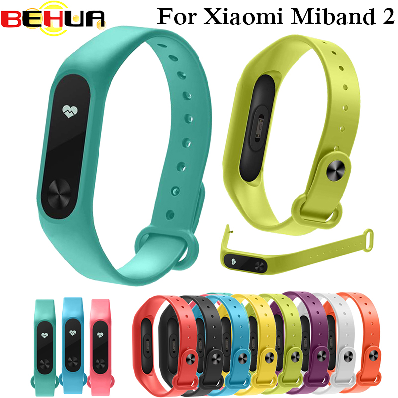 For Xiaomi Mi Band 2 Bracelet Strap Colorful Strap Wristband Replacement Smart Band Accessories For Mi Band 2 Silicone Bracelet