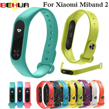 For Xiaomi Mi Band 2 Bracelet Strap Colorful Wristband Replacement Smart Accessories Silicone