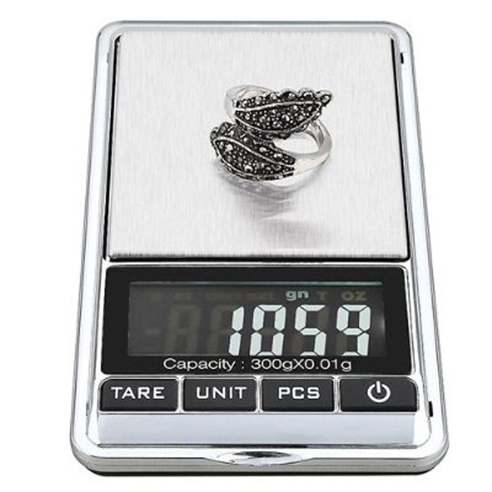 Горячая 300g x 0,01g Мини цифровые ювелирные карманные грам весы lcd