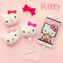 Горячая Распродажа, зарядное устройство с милым котом, внешний аккумулятор 12000 мА/ч, Hello cat kitty, внешний портативный аккумулятор для всех телефонов
