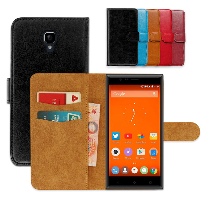 Luxury PU Leather Exclusive Slip-resistant Flip wallet case for Highscreen Boost 3 SE  Ultra-thin Phone Cover,book case