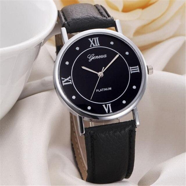 Fashion Women Girl Leather Band Analog Quartz Watches Wrist Watch Brand New High
