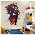 Красивые настенные наклейки «мстители» для детской комнаты, спальни, «сделай сам», настенные художественные наклейки, 3d декоративные посте...