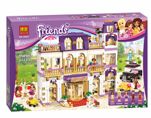 New 10547 Friends Series Girls 1585PCS Hotel Model Minifigures Set Building Blocks girl toys Compatible With Legoe
