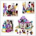 Bela 10539 341Pcs Compatible With  41093 Friends Heartlake Hair Salon Model Building Kits  Blocks Bricks set Toys