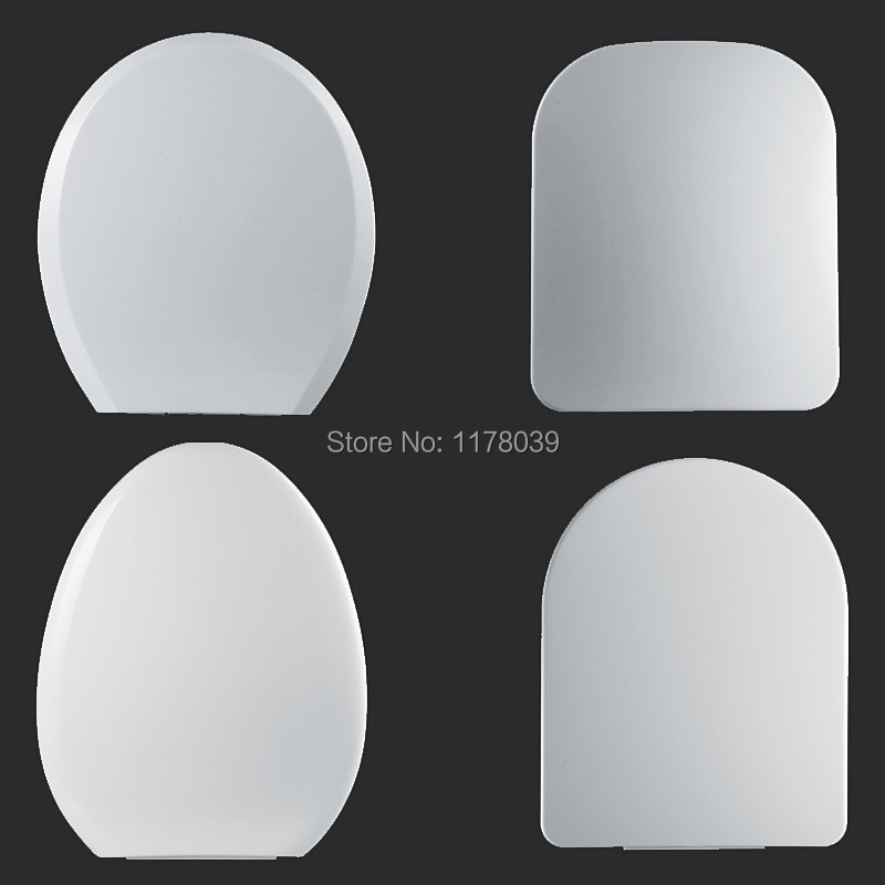 Universal thicken pp board U V O type Slow Close toilet seats cover High quality white