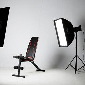 Image 5 - Godox SB UE 80 × 120 センチメートル/31 * 47 ポータブル長方形傘 Bowens マウントキャリーバッグのためのスタジオフラッシュ