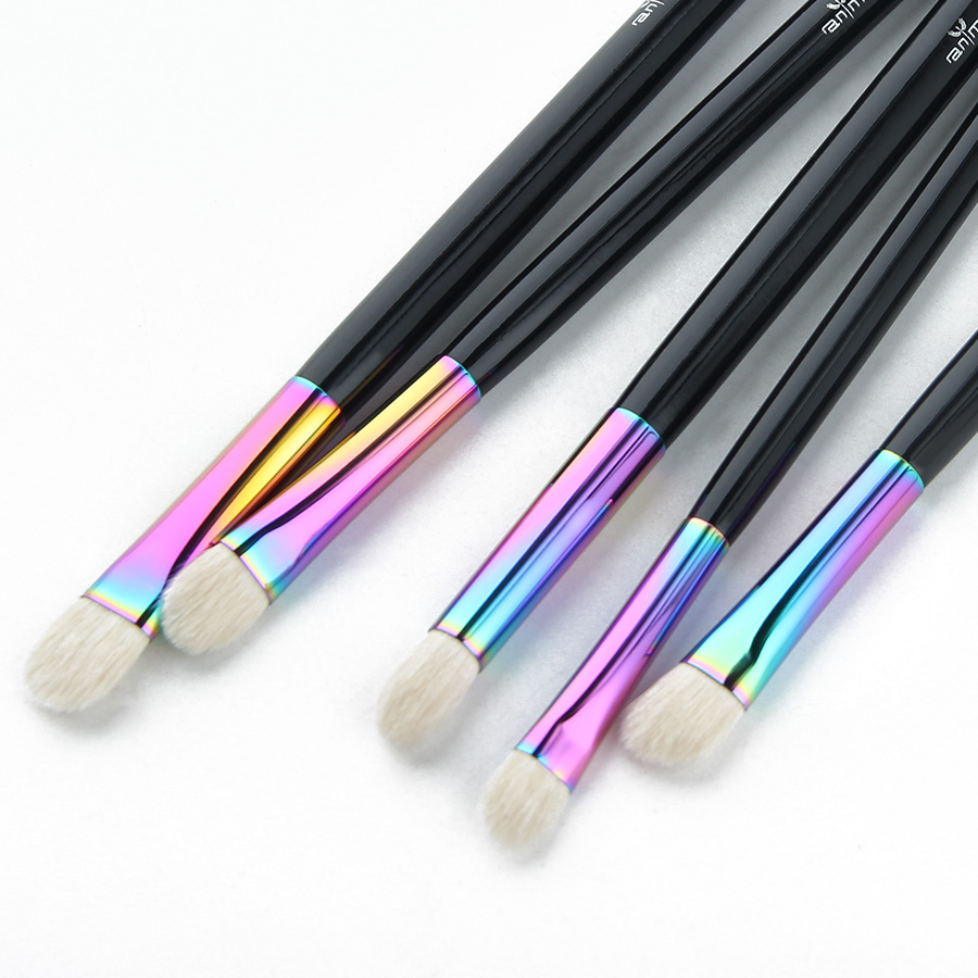 Anmor New Essential Eye Shadow Brush Set Rainbow Högkvalitativa - Smink - Foto 4