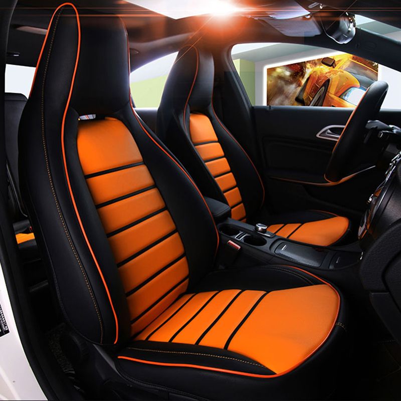 Yuzhe Cowhide Leather Car Seat Covers For Mercedes Benz