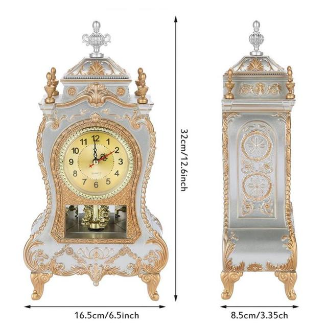 Vintage Style Desk Alarm Clock