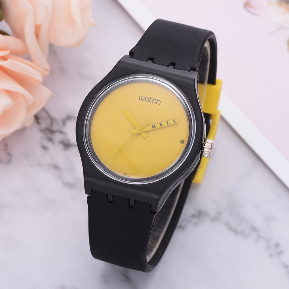 Fashion 2018  Creative Students Quartz Watches Simple  Concise Cool  Sport  Dial  For Ladies Wristwatch Dropshipping  LS1093
