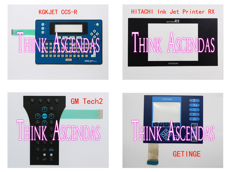 1pcs New GETINGE OPERATING PANEL OP30 PACS 3000 / GM Tech2 / HITACHI Ink Jet Printer RX / KGK JET KGKJET CCS Membrane Keypad yec ccs pcu