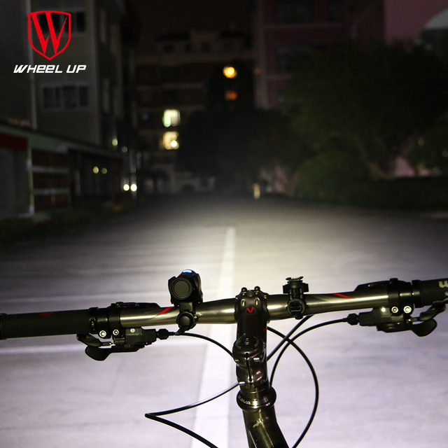WHEEL UP mini USB rechargeable bike light front handlebar