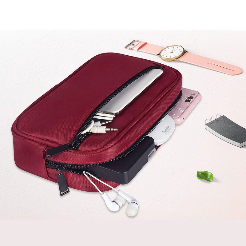 reputable site 24821 883d6 US $10.31 31% OFF|Aliexpress.com : Buy Digital Accessories Phone Case Bag  for Xiaomi iPhone Samsung Pouch Travel Headphone Storage Bag Charger USB ...